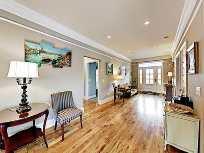 Photo for Sophisticated Art-Filled Home w/ 2 Porches, Sauna - 2 Miles to Downtown