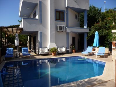 Photo for Beautiful Villa, Private Pool & Gardens, only a Short Walk To Kalkan Town Centre