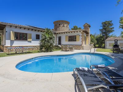 Photo for AMAZING VILLA FALCO PEACEFUL AREA WITH PRIVATE POOL CLOSE TO THE BEACH & CENTRE