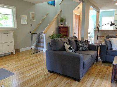 Photo for Bright Spacious Home Close to Downtown or Mountain Getaway with Sunny Backyard