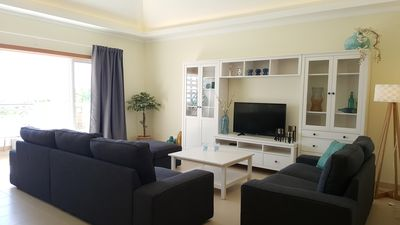 Photo for New Modern Penthouse apartment in 'Royal Cabanas Beach', Full-TV, WiFi, Etc
