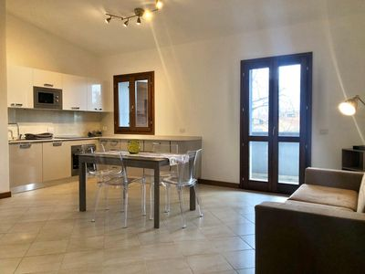 Photo for Apartment on shopping boulevard in Olbia city center