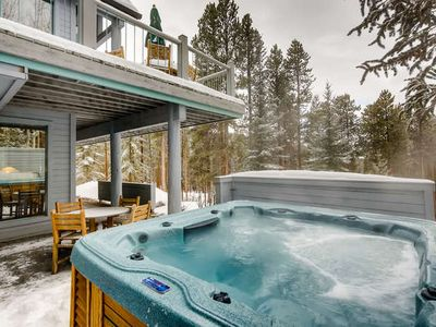 Photo for Flexible Cancellation, Get Back In Touch With Nature! Private Hot Tub!