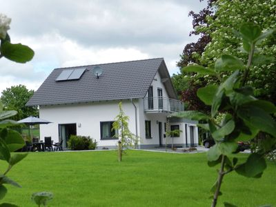 Photo for Modern detached holiday house in Sauerland with a large garden and balcony