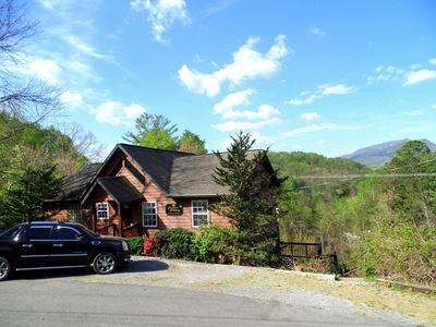Photo for Mountain Hideaway, 2 BR/2 BA Cabin, Mountain View, Secluded