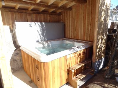 Photo for Gite of charm and relaxation with private jacuzzi