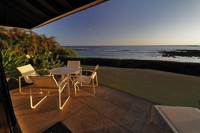 Looking SE from Kiahuna 1. Enjoy beach activities from the comfort of your lanai