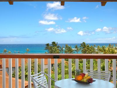 Photo for Nihi Kai 832 Great Ocean View close to Poipu Beach-25% OFF ON SELECT 2020 DATES