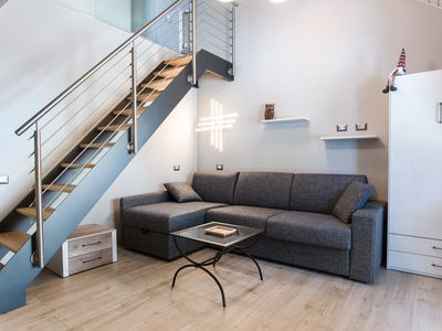 Photo for Modern Apartment Cesa Civetta with Balcony & Mountain View; Garage Available