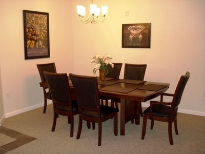 Large Dining Table to enjoy that Home Cooked Meal