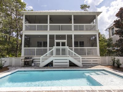 Photo for Seagrove -Sleeps 13- New Construction- Private Pool- Near Seaside
