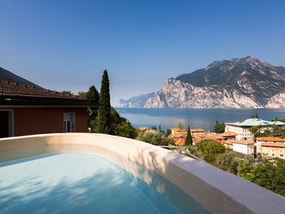 Photo for New structure holiday apartments, families, sports, animals, Lake Garda