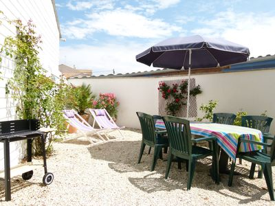 Photo for L'Estivale, house with garden 300 meters from the beach