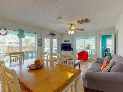 Photo for NEW LISTING! Dog-friendly, waterfront condo w/ shared pool & boat dock