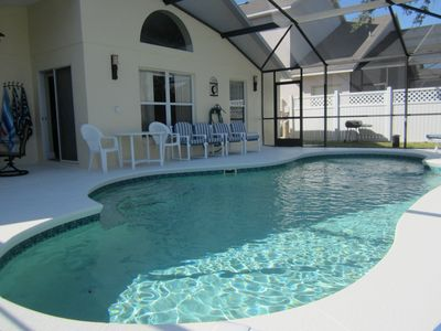 Photo for Magic Oaks Villa close to Disney with private pool