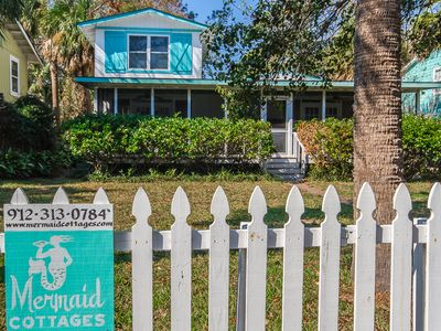 Photo for Tybee Twins-Pet Friendly! 3 Bedrooms/3 Full Baths! PRIVATE POOL! Fenced Yard
