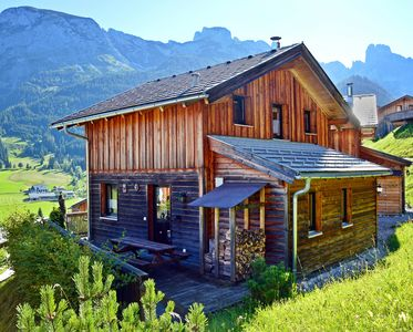 Photo for Cabin with great location and view of the Bischofsmütze Mountain