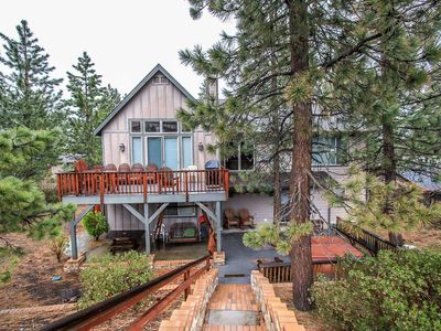 Photo for House 976 m from the center of Big Bear Lake with Parking, Internet, Washing machine, Balcony (983677)