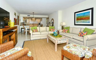 Photo for Chinaberry 921 - 2 Bedroom Condo with Private Beach with lounge chairs & umbrella provided, 2 Poo...
