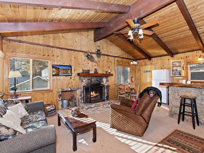 Photo for Bungalow at Rathbun Creek: Walk to the Ski Resort Shuttles! Pet Friendly! WiFi! Charcoal BBQ!
