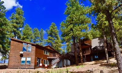 Photo for Luxurious 2 Cabin Getaway, 5000 SQ FT, 6 BDRM, 6 1/2 BATH, 3 MIN to ski slopes