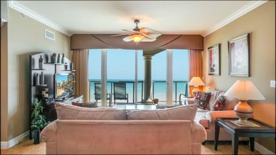 Photo for 2B Gulf Front -Tower 5 -16th Floor w/Beach Chairs