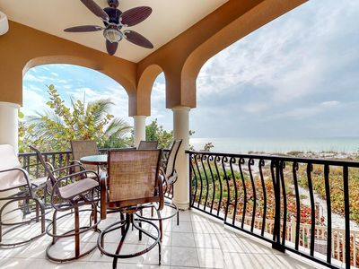 Photo for Oceanfront condo features easy beach access, a shared pool, and great views!