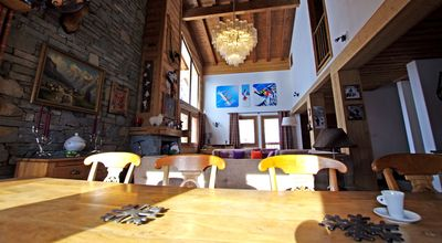 Photo for Luxury chalet ZANSKAR TIGNES 7 rooms 12 persons, 6 bedrooms, WIFI