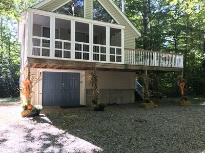 Photo for Charming 3 bedroom chalet style home with shared access to Lake Winnipesaukee
