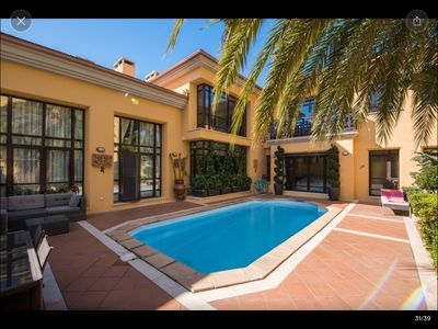 Photo for Majestic 3 Bedroom Villa, Private Swimming Pool, Puerto Banus, Marbella!