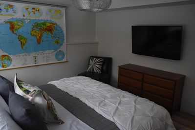 Master Bedroom with it's own television