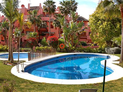 Photo for Guadalmansa Apartment, Sleeps 4 with Pool, Air Con and Free WiFi