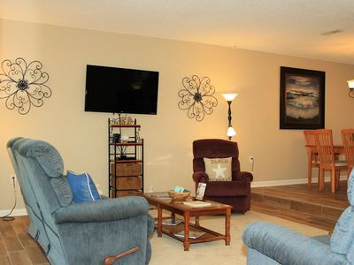 Photo for 3 Bedroom/2.5 Bath Condo. 1 mile from ocean. Golf cart.  GREAT LOCATION!