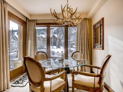 Photo for LION SQUARE LODGE at Gondola Ski In/Out 1st Floor Vail Mt View Platinum Rated