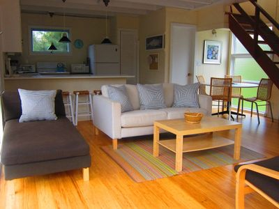 Photo for Booking 2019 Charming Water View Beach House on Private Block