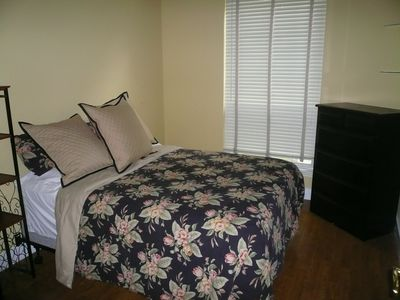 3 large bedrooms with queen beds in each room