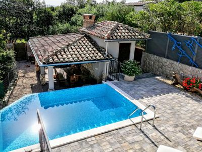 Photo for Apartment Roko With A Private Swimming Pool And Stone Grill