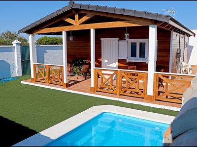 Photo for Holiday Bungalow with private pool