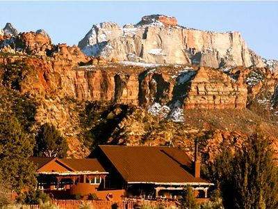 Photo for Secluded/Private 10 Acre Estate in & surrounded by Zion National Park