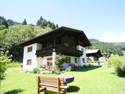 Photo for Well-maintained apartment on the edge of the cosy village of Dienten.