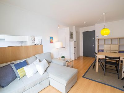 Photo for Martim Moniz Central Flat apartment in Pena with WiFi & private parking.