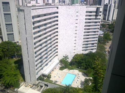 Photo for Flat on Boa Viagem beach Advance payment required. In the card