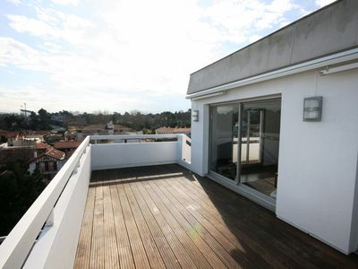 Photo for SPACIOUS APARTMENT, BRIGHT AND EXCEPTIONAL VIEW BIARRITZ