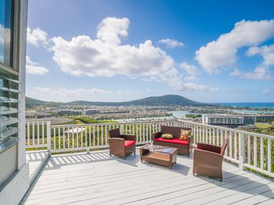 Deck - Aloha! This stunning home in beautiful Hawaii Kai is professionally managed by TurnKey Vacation Rentals.