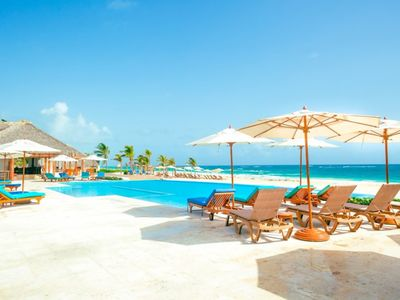 Photo for Luxe Beach Condo w FREE Golf Cart @ Hard Rock Punta Cana