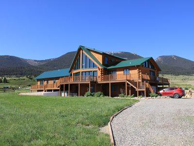 Photo for Perfect spacious log home for your 'extended family' vacation to Yellowstone
