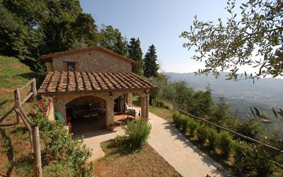 Photo for House for 3 People on the Hills of Camaiore in Tuscany