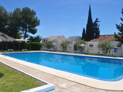 Photo for Beautiful villa, five bedrooms and very bright. Swimming pool, BBQ, WIFI, Tennis
