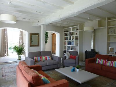 Photo for Family home, 4 bedrooms sleeps 6/8, 170m2, pool
