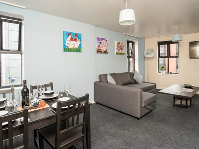 Photo for Apartment in the center of Newcastle upon Tyne with Internet, Lift, Washing machine (1009323)